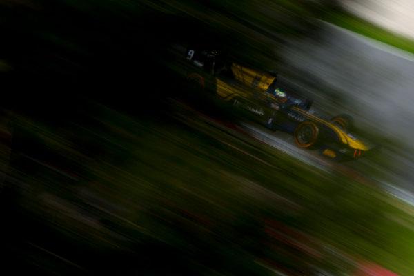Circuit de Barcelona Catalunya, Barcelona, Spain. Monday 13 March 2017. Oliver Rowland (GBR, DAMS). Action. Photo: Alastair Staley/FIA Formula 2 ref: Digital Image 580A0371