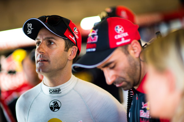 2017 Supercars Championship Round 6.  Darwin Triple Crown, Hidden Valley Raceway, Northern Territory, Australia. Friday June 16th to Sunday June 18th 2017. Jamie Whincup driver of the #88 Red Bull Holden Racing Team Holden Commodore VF. World Copyright: Daniel Kalisz/LAT Images Ref: Digital Image 180617_VASCR6_DKIMG_4424.jpg