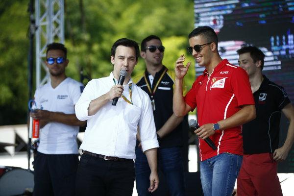 2017 FIA Formula 2 Round 7. Hungaroring, Budapest, Hungary. Saturday 29 July 2017. Antonio Fuoco (ITA, PREMA Racing).  Photo: Andy Hone/FIA Formula 2. ref: Digital Image _ONY0697
