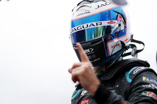 Pole man Sam Bird (GBR), Jaguar Racing