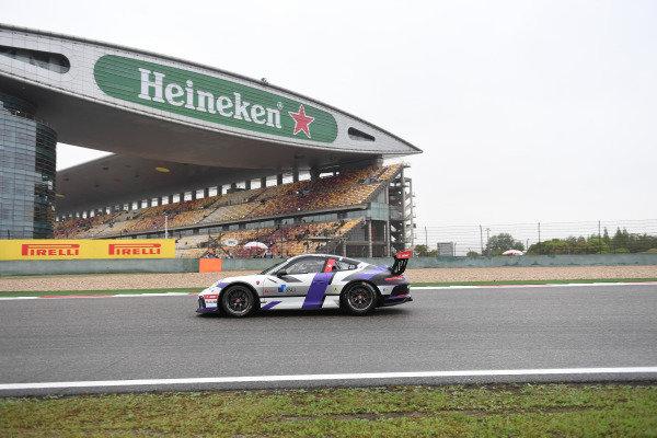 Antares AU (HKG) Modena Motorsports at Porsche Carrera Cup Asia, Shanghai, China, 13-15 April 2018.