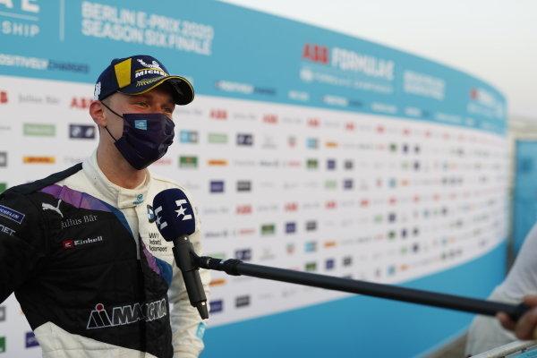 Maximilian Günther (DEU), BMW I Andretti Motorsports talks to the press