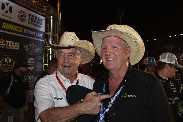 Roger Penske, Team Penske Chevrolet celebrates the win in victory lane
