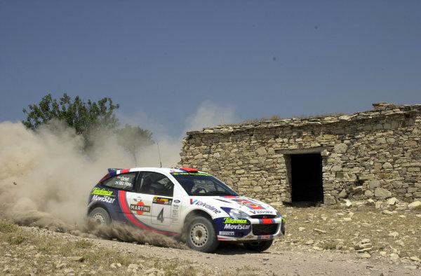 2001 World Rally ChampionshipCyprus Rally June 1-3, 2001Colin McRae on Stage 17.Photo: Ralph Hardwick/LAT