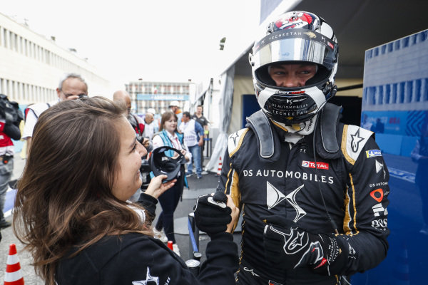 Andre Lotterer (DEU), DS TECHEETAH., on pole posisiton