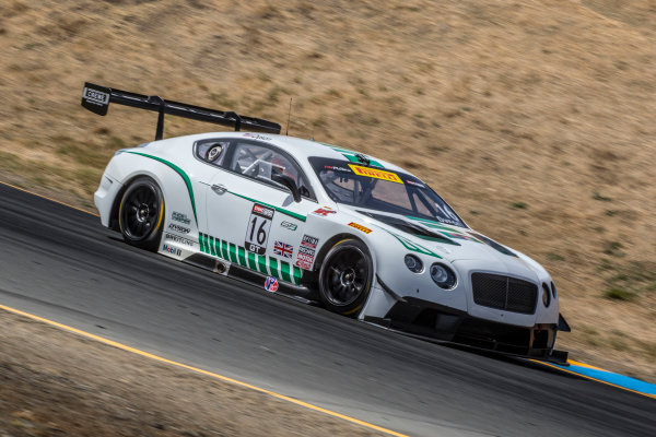 28-30 August, 2015, Sonoma, California USA Chris Dyson, #16 Bentley ?2015, Brian Cleary LAT Photo USA