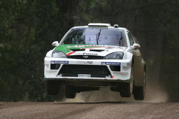 2004 FIA World Rally Champs. Round Sixteen, Rally Australia.11th - 14th November 2004.Markko Martin, Ford, action.World Copyright: McKlein/LAT