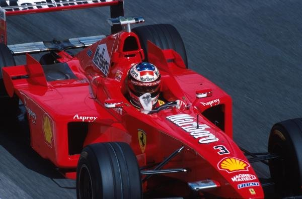 Michael Schumacher (GER) Ferrari F300 Formula One World Championship, Rd 14, Italian Grand Prix, Monza, Italy, 13 September 1998