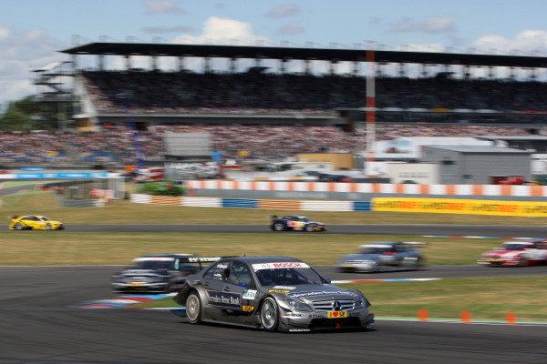 Bruno Spengler (CDN), Mercedes-Benz Bank AMG.DTM, Rd4, Eurospeedway Lausitz, Germany, 18-19 June 2011.