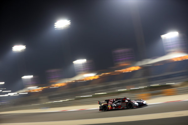 2016 FIA World Endurance Championship, Bahrain International Circuit, 17th-19th November 2016, Marcel Fassler / Andre Lotterer / Benoit Treluyer - Audi Sport Team Joest Audi R18 World Copyright. Jakob Ebrey/LAT Photographic