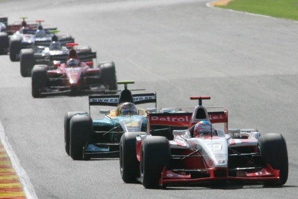 Adam Carroll (GBR) FMS International  GP2 Series, Rd 11, Race Two, Valencia, Spain, Sunday 30 September 2007.