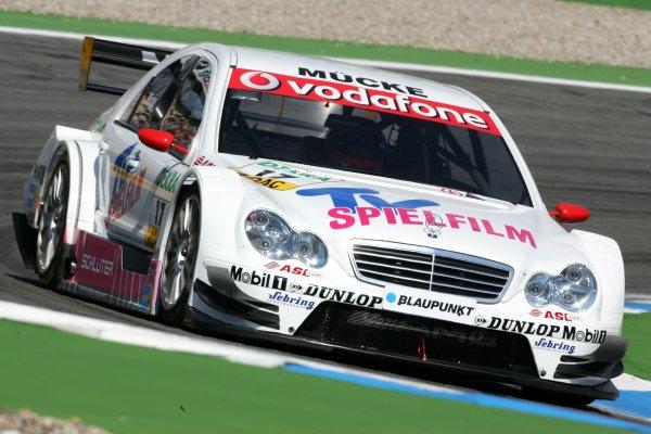 2006 DTM Championship.Round 1, Hockenheimring. 7th - 9th April 2006.Stefan Mücke (GER), Mücke Motorsport, AMG-Mercedes C-KlasseWorld Copyright: Miltenburg/LATref: Digital Image Only