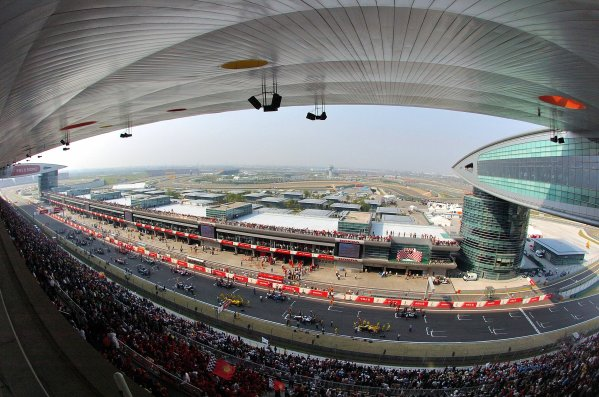 2005 Chinese Grand Prix - Sunday Race, 