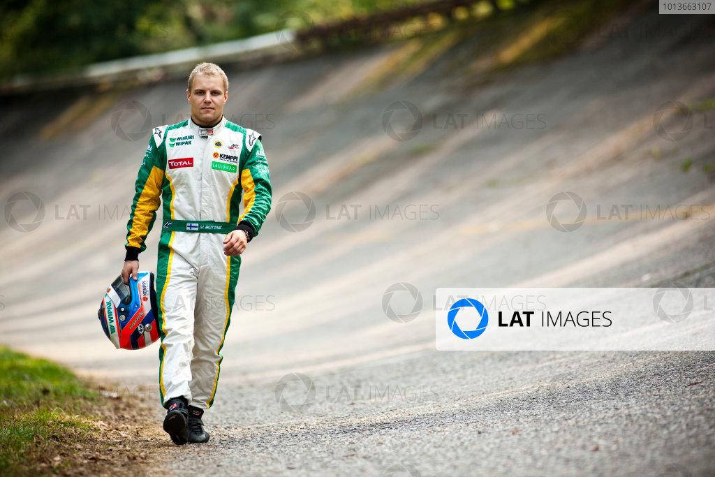 Round 8. Autodromo di Monza, Monza, Italy. 11th September 2011. Sunday Race Two.  Valtteri Bottas, (FIN, Lotus ART) 2011 GP3 Series Champion.Portrait.  Photo: Drew Gibson/GP3 Media Service. ref: Digital Image DG5D4360-2