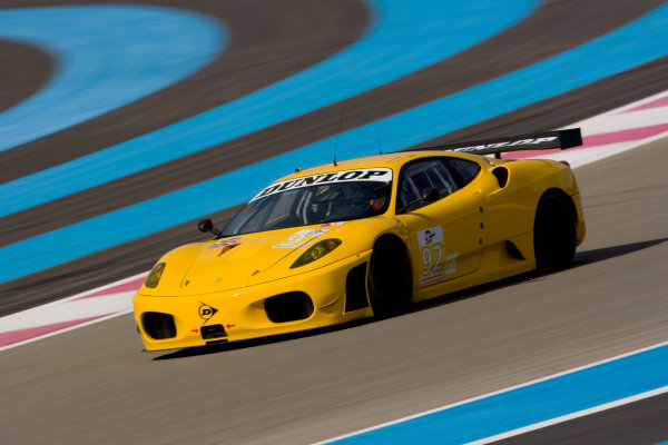Circuit Paul Ricard, France. 8th March 2009. Rob Bell / Gianmaria Bruni / Tim Sugden, (JMW Motorsport) Ferrari 430 GT. Action. World Copyright: Drew Gibson/LAT Photographic.ref: Digital Image _Y2Z1867