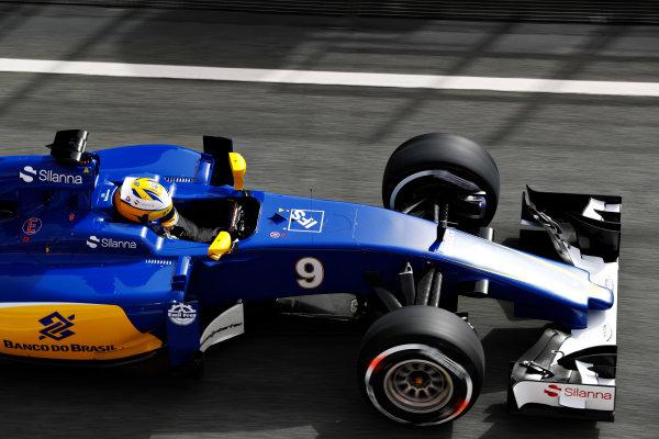 Circuit de Catalunya, Barcelona, Spain Monday 22 February 2016. Marcus Ericsson, Sauber C35 Ferrari. World Copyright: Steven Tee/LAT Photographic ref: Digital Image _H7I0367