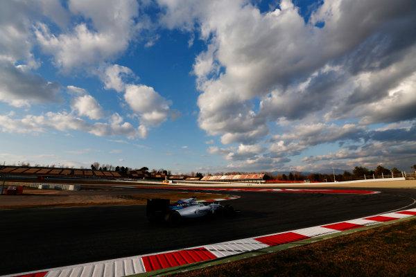 Circuit de Catalunya, Barcelona, Spain Thursday 25 February 2016. Felipe Massa, Williams FW38 Mercedes. World Copyright: Sam Bloxham/LAT Photographic ref: Digital Image _SBL8596