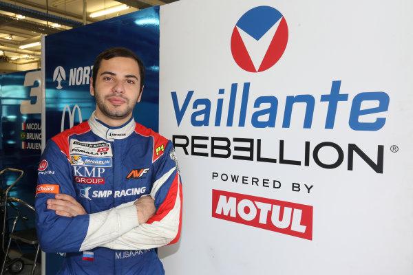 2017 FIA World Endurance Championship Rookie Test, Bahrain International Circuit, Bahrain. 19th November 2017, #13 Vaillante Rebellion ORECA 07-Gibson: Mtevos Isaakyan (RUS) World Copyright. JEP/LAT Images