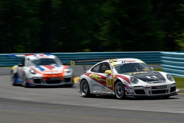 26-29 June, 2014, Watkins Glen, New York USA 35, Michael Levitas, Gold, M, 2011 Porsche, ?2014 Scott R LePage LAT Photo USA