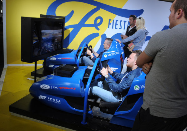 2016 Goodwood Festival of Speed Goodwood Estate, West Sussex,England 23rd - 26th June 2016 Moving Motor Show Ford World Copyright : Jeff Bloxham/LAT Photographic Ref : Digital Image