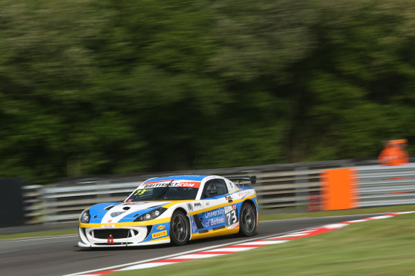 2016 British GT Championship, Oulton Park, Cheshire, 28th-30th May 2016, Anna Walewska / Nathan Freke Century Motorsport Ginetta G55 GT4 World Copyright.Ebrey/LAT Photographic