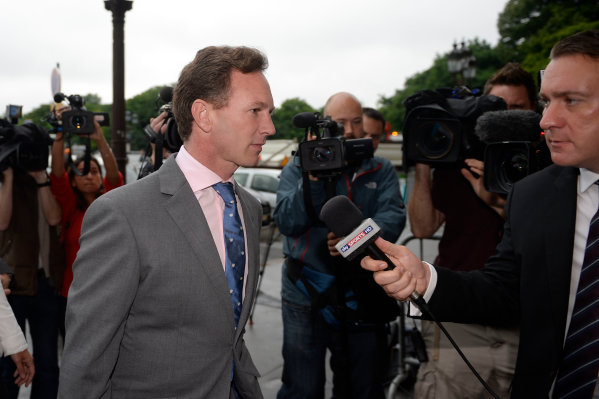 FIA Headquarters, Paris, France 20th June 2013 Christian Horner, Team Principal, Red Bull Racing World Copyright: DPPI/  ref: Digital Image _JC17356