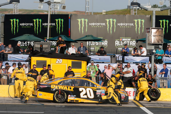 Monster Energy NASCAR Cup Series Monster Energy NASCAR All-Star Race Charlotte Motor Speedway, Concord, NC USA Friday 19 May 2017 Matt Kenseth, Joe Gibbs Racing, DEWALT Benefiting Wounded Warriors Project Toyota Camry World Copyright: Matthew T. Thacker LAT Images ref: Digital Image 17CLT1mt1416
