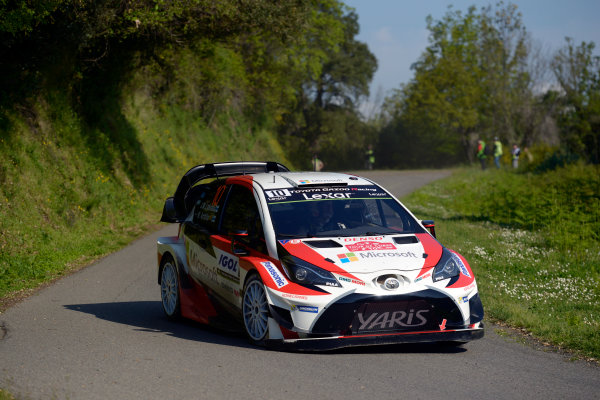 2017 FIA World Rally Championship, Round 04, Rallye de France, Tour de Corse, April 06-09, 2017, Jari-Matti Latvala, Toyota, action Worldwide Copyright: McKlein/LAT