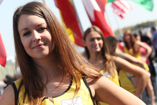 Round 8 - Oschersleben, Germany.14th - 16th September 2012.Grid girls.World Copyright: Schaber / XPB Images / LAT Photographicref: Digital Image 2354936_HiRes