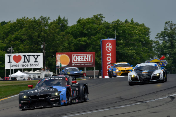 27-29 June, 2014, Watkins Glen, New York USA 55, BMW, Z4 GTE, GTLM, Bill Auberlen, Andy Priaulx, 46, Audi, R8 LMS, GTD, Charlie Putman, Charles Espenlaub, Marco Bonanomi ?2014 Scott R LePage LAT Photo USA