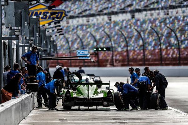 9-11 January, 2015, Daytona Beach, Florida USA  57, Judd, Ligier JS P2, P, Tracy Krohn, Nic Jonsson, Olivier Pla, Alex Brundle ©2015, Michael L. Levitt LAT Photo USA