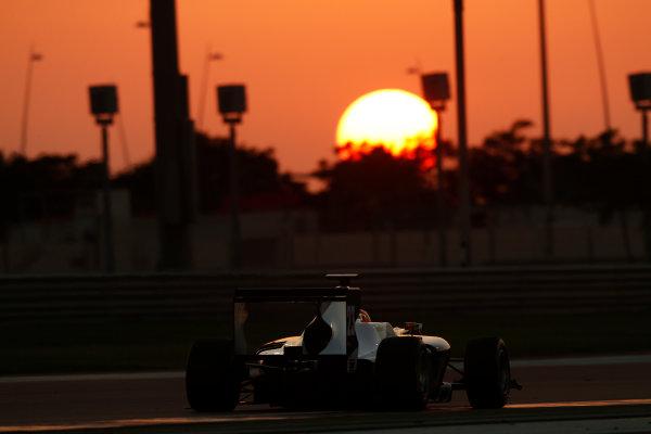 2014 GP3 Series Test 3.   Yas Marina Circuit, Abu Dhabi, United Arab Emirates. Saturday 29 November 2014.Amaury Bonduel (BEL, Trident)  Photo: Sam Bloxham/GP3 Series Media Service. ref: Digital Image _14P3037