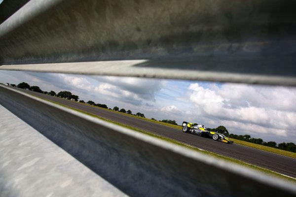 2016 BRDC F3 Championship, Snetterton, Norfolk. 6th - 7th August 2016. Enzo Bortoleto (BRA) Double R Racing BRDC F3. World Copyright: Ebrey / LAT Photographic.