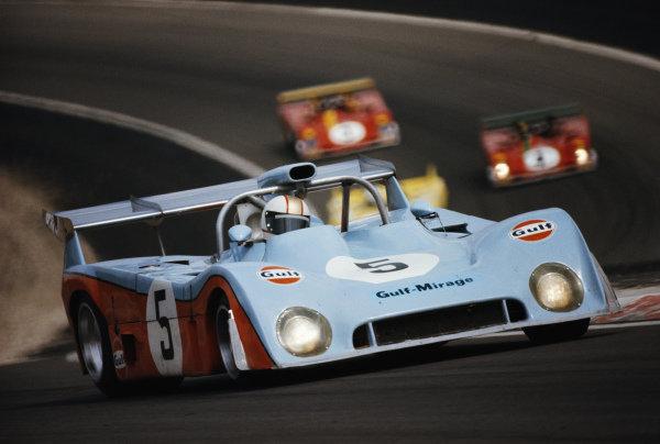 Mike Hailwood / Vern Schuppan, Gulf Racing, Mirage M6 Ford.