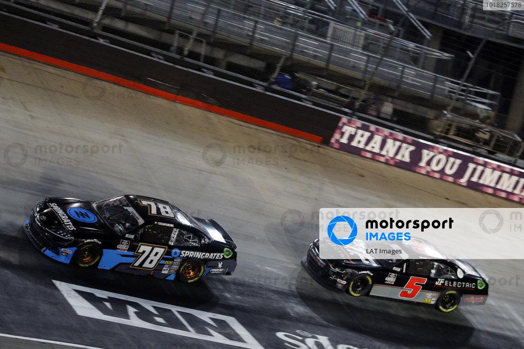 #78: Stefan Parsons, B.J. McLeod Motorsports, Toyota Supra Springrates