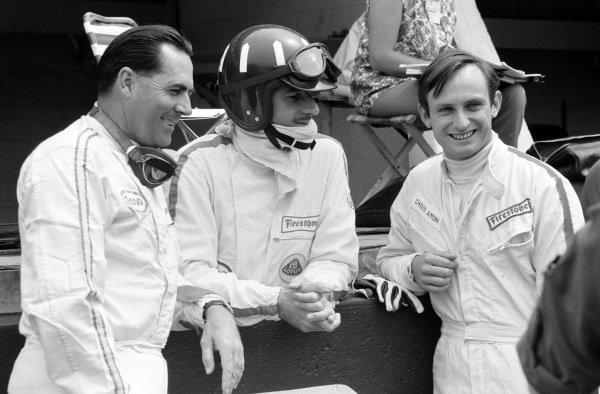 Jack Brabham, Graham Hill and Chris Amon.