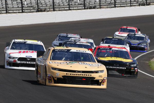 #11: Justin Haley, Kaulig Racing, Chevrolet Camaro LeafFilter and #39: Ryan Sieg, RSS Racing, Chevrolet Camaro Lombard Brothers Gaming