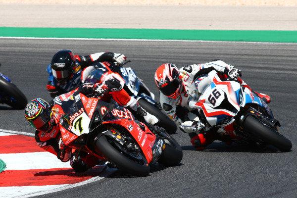 Chaz Davies, Aruba.it Racing-Ducati Team, Tom Sykes, BMW Motorrad WorldSBK Team.