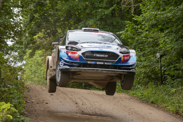 Gus Greensmith (GB), M-Sport Ford WRT, Ford Fiesta WRC 2020