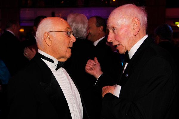 Sunday  Murray Walker and John Surtees. World Copyright:Andrew Ferraro/  ref: Digital Image _Q0C1469