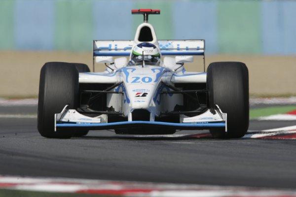 2006 GP2 Series. Round 7 . Magny-Cours, France. 16th July.Sunday Race Olivier Pla (FRA, DPR Direxiv). Action.  World Copyright: Charles CoatesGP2 Series Media Service. ref: Digital Image MB5C9397