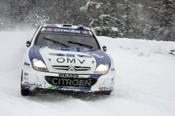 2007 FIA World Rally ChampionshipRound 3Rally of Norway 200715th - 18th February 2007Manfred Stohl, Citroen, ActionWorldwide Copyright: McKlein/LAT