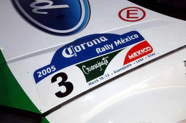 Rally Mexico; 3rd round of the 2005 WRC.FIA World Rally Championship, Rd3, Rally Mexico, Leon, Mexico, Day One, 11 March 2005.DIGITAL IMAGE