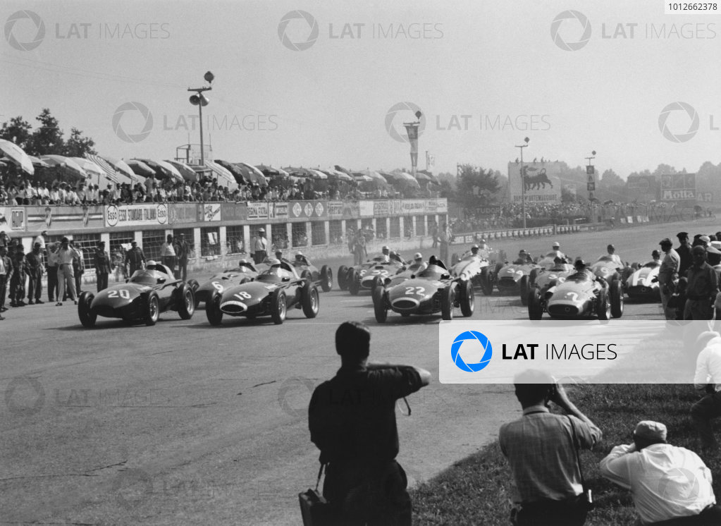 Monza, Italy. 6th - 8th September 1957.