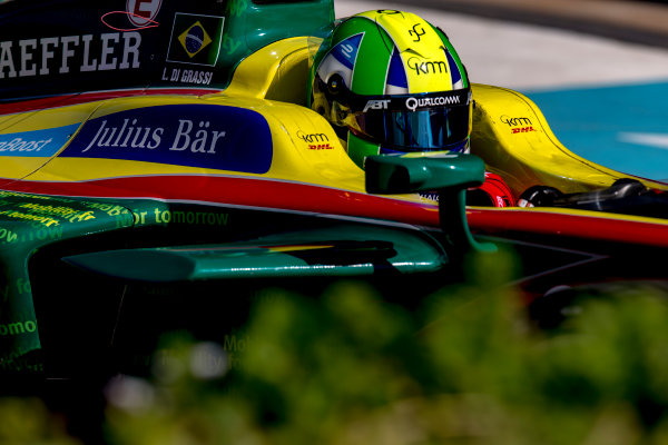 2016/2017 FIA Formula E Championship. Marrakesh ePrix, Circuit International Automobile Moulay El Hassan, Marrakesh, Morocco. Saturday 12 November 2016. Lucas Di Grassi (BRA), ABT Schaeffler Audi Sport, Spark-Abt Sportsline, ABT Schaeffler FE02.  Photo: Zak Mauger/Jaguar Racing ref: Digital Image _X0W5885