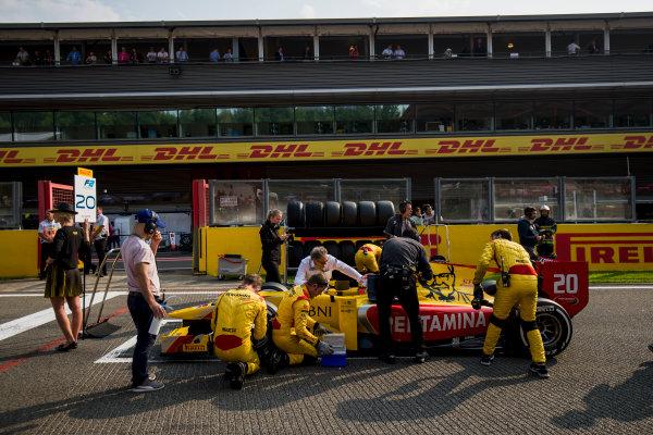 2017 FIA Formula 2 Round 8. Spa-Francorchamps, Spa, Belgium. Sunday 27 August 2017. Norman Nato (FRA, Pertamina Arden).  Photo: Zak Mauger/FIA Formula 2. ref: Digital Image _54I2865