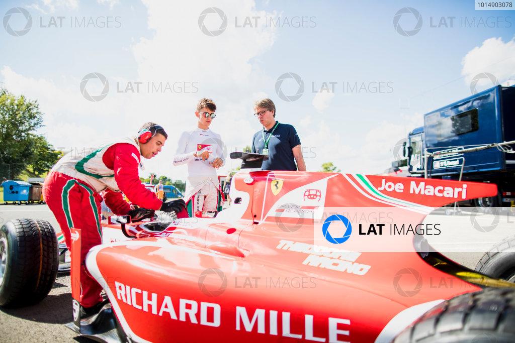 2017 FIA Formula 2 Round 7. Hungaroring, Budapest, Hungary. Friday 28 July 2017. Charles Leclerc (MCO, PREMA Racing).  Photo: Zak Mauger/FIA Formula 2. ref: Digital Image _56I1221