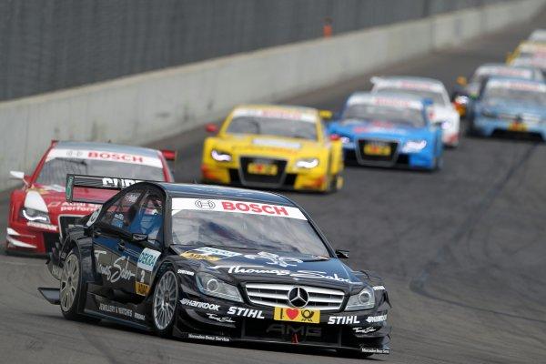 Gary Paffett (GBR), Thomas Sabo AMG Mercedes.DTM, Rd4, Eurospeedway Lausitz, Germany, 18-19 June 2011.World Copyright: LAT Photographicref: Digital Image dne1119ju73