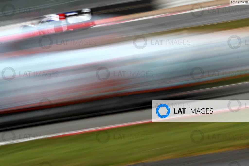 2013 FIA WEC Championship, Silverstone, Northamptonshire. 12th - 14th April 2013. Anthony Davidson / Sebastien Buemi / Stephane Sarrazin Toyota Racing TS030 World Copyright: Ebrey / LAT Photographic.