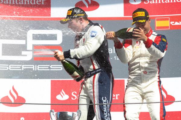 2013 GP3 Series. Round 1.  Circuit de Catalunya, Barcelona, Spain.  12th May Sunday Race 02 Aaro Vainio (  Patric Niederhauser (  Portrait  World Copyright: Malcolm Griffiths/GP3 Media Service.  Ref: Digital ImageC76D5835.JPG